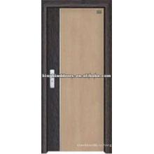 Высокое качество двери МДФ с ПВХ покрыты / ПВХ двери (JKD-8018) для дизайна интерьера комнаты из Китая Топ 10 марки
