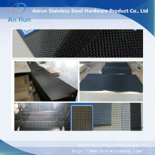 Anping Real Factory Stainless Steel/Galvanized Diamond Wire Mesh/Anti-Theft Window Screening