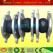 Flange rubber expansion joint rotary joint