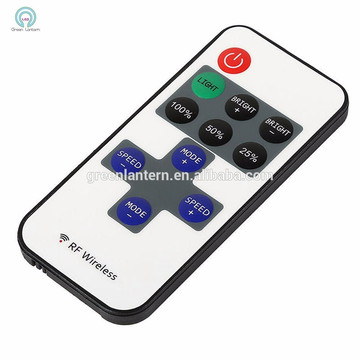 Thinker mini RF remote 11 keys lithium battery operated led strip controller
