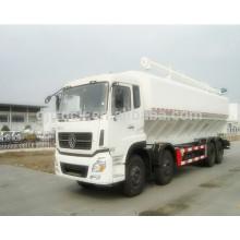 Camión de transporte de la alimentación animal del bulto 16CBM / transporte de la alimentación a granel Camiones para el camión de la entrega de la alimentación animal de los animales / del bulto