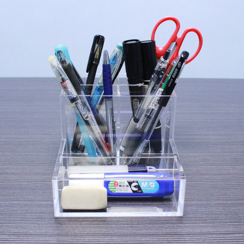 Acrylic Office Supply Organizers