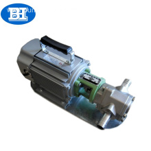 WCB light type stainless steel portable diesel fuel pump oil transfer gear pump