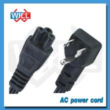 Venta al por mayor de fábrica EE.UU. AC iec c17 cable de alimentación