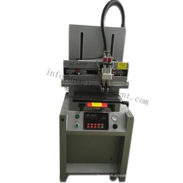 Machine de sérigraphie pneumatique en forme de t-shirt à vendre pour plaques métalliques / PVC / Plastique Taille de tablette réglable 20X 30cm