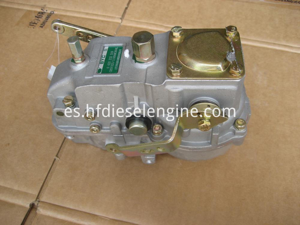 Fuel injection pump speed governor (1)
