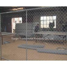Powder Coating Iron Fechten / temporäre Fechten für Barriere / Stahl Eisen Fechten mit niedrigem Preis verwendet