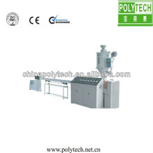 Small profile nylon production machine