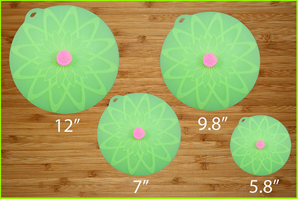 New Design Useful Silicone Lid Set