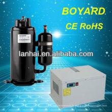 R22 rotatif hermétique 220 volts compresseur 50 / 60Hz pour système de climatisation déshumidificateurs secs compresseur
