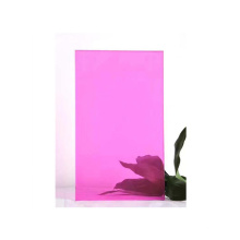 Low cost 6mm heat reflective safety tempered building glass colored coating toughened glass