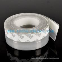 Tira clara adesiva do selo de porta do silicone do OEM