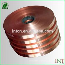 High quality GB DIN EN ISO UNS JIS standard ISO Cu-ETP copper strips
