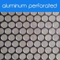 Aluminiumperforierte Metallplatte