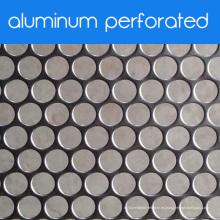 Placa de metal perforada de aluminio