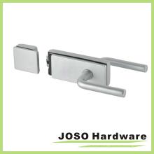 Porta de aço inoxidável porta porta de vidro porta fechadura (GDL019B-2)