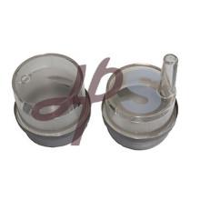 Plastic water meter cap for multi jet or AWWA meter