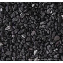 Charbon actif 12x40 briqueté pour la purification de l'eau 12x40 charbon actif iode 950 mg / g de charbon actif