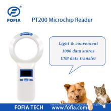 ICAR Rfid Animal Microchip Reader 134,2 kHz de longa distância
