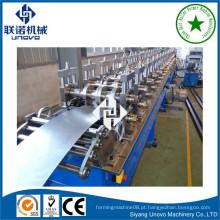 Alto rendimento de luz calibre aço rolo formando máquina longa extensão