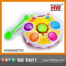 Детский электронный барабан набор детский пластиковый барабан набор игрушка электронный барабан