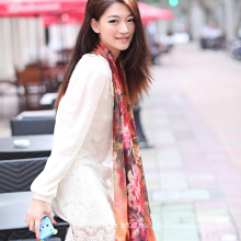 Silk Digital Printed Shawl (12-BR110303-32)
