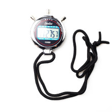 Digital Sports Stopwatch with Metal Case