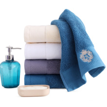 Direct sales cotton absorbent soft face towel hotel household bathroom towels