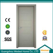 Porta de madeira colorida do MDF do núcleo contínuo para hotéis e casas residenciais