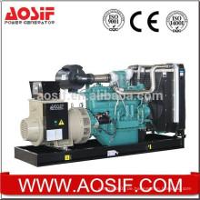 AOSIF 400kw / 500kva Elektrischer Generator, beweglicher Generator-Satz mit Dieselmotor