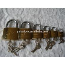 Fábrica de ouro inteiro banhado bloqueio de segurança ideal