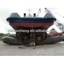 Barge de lancement de 8 couches 1.5mX15m et airbag de lancement de remorqueur