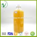 Garrafa de animal de estimação sem costura de plástico vazio de 750 ml com tampa anti-inviolabilidade