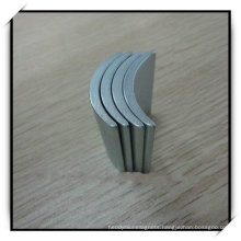 Rare Earth Arc Shape Segment Magnet with Zinc Plating