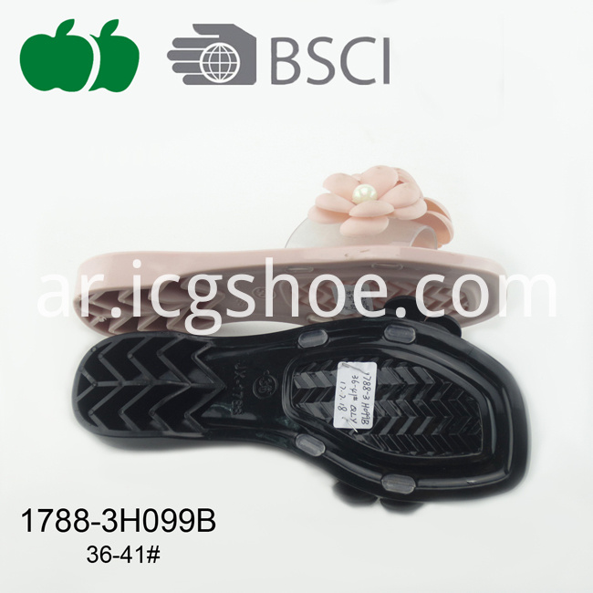 new style pvc fashion slipper