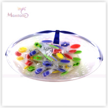 24PCS Plastic Clothes Pegs (basket +shrink)