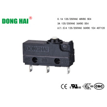Micro interruptor à prova de poeira para eletrodomésticos