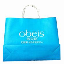 Цветная бумажная сумка для покупок