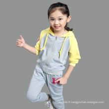 Vêtements pour enfants en gros Printemps Automne Filles Sport Costumes