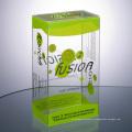 Boîtes à gâteaux en gros boîte pliable d'emballage en plastique transparent