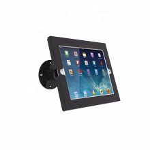 OEM &ODM adjustable anti-theft security swivel desktop or wall mount tablet display stand for ipad