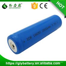 Meilleur prix icr18650 batteries rechargeables 3.7v 2800mah