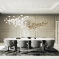 Hotel villa hall dining room big pendant chandelier