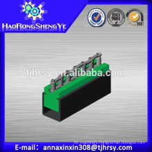 Green UHMW-PE CU type Chain guides