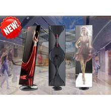 Ultra Slim LED Poster AD-spelare
