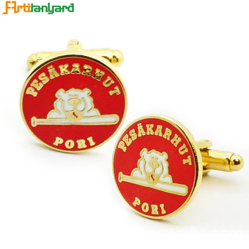 Custom Cufflinks Design Feito por liga