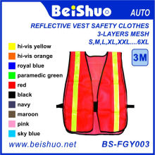 Super High Visibility Reflective Safety Vest with Reflective Strips