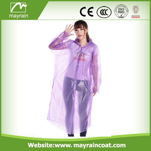 Quality Guaranteed PE Raincoat