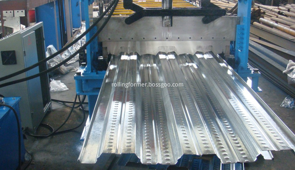 floor decking roll forming machine 21