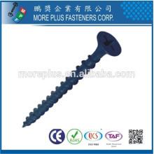 Fabricante en Taiwán Acero al carbono C1022 Negro Fosfato Galvanizado Tornillos de pared de yeso Tornillo de yeso